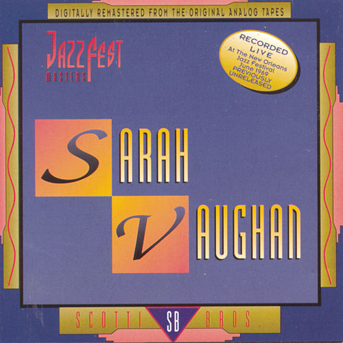 Jazz Fest Masters by Sarah Vaughan