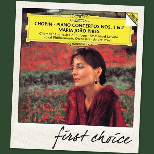 Chopin: Piano Concertos Nos.1 & 2 by Maria Joao Pires