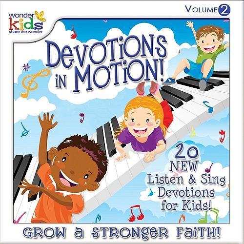 Devotions in Motion, Vol. 2 by Wonder Kids