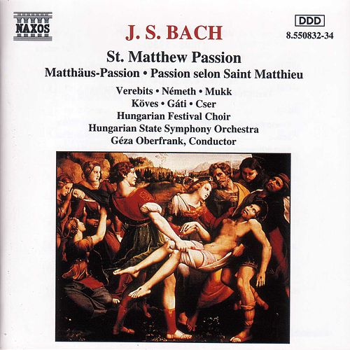 Play & Download St. Matthew Passion by Johann Sebastian Bach | Napster