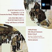 Play & Download Shostakovich:Symphonies 1 & 10/Concerto for Piano, Trumpet, Strings/Songs & Dances of Death by Philadelphia Orchestra | Napster