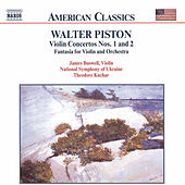 Violin Concertos Nos. 1 and 2 by Walter Piston