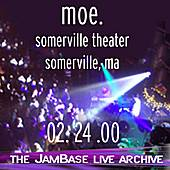 02-24-00 - Somerville Theater - Somerville, MA by moe.
