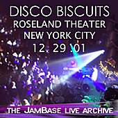Play & Download 12-29-01 - Roseland Ballroom - New York, NY by The Disco Biscuits | Napster