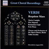 Requiem Mass by Giuseppe Verdi