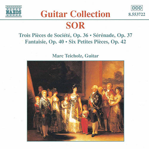 Guitar Music Opp. 36 - 42 by Fernando Sor