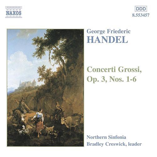 Concerti Grossi Op. 3 by George Frideric Handel