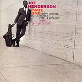 Play & Download Page One by Joe Henderson | Napster
