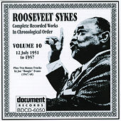 Roosevelt Sykes Vol. 10 (1951-1957) by Various Artists