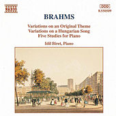 Variations, Op. 21 / Five Studies by Johannes Brahms
