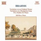 Play & Download Variations, Op. 21 / Five Studies by Johannes Brahms | Napster