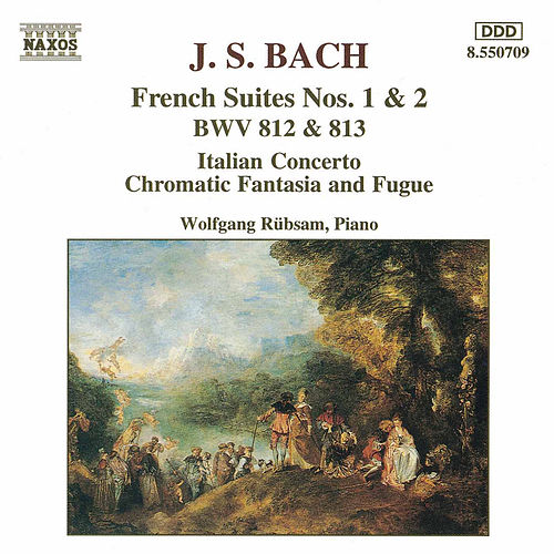 French Suites Nos. 1 and 2 by Johann Sebastian Bach