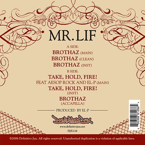 Play & Download Brothaz Single by Mr. Lif | Napster