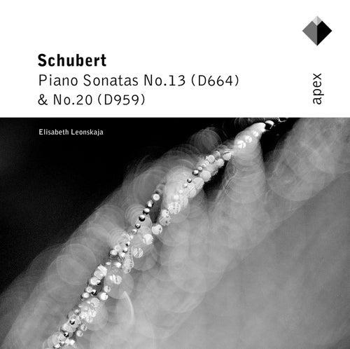 Schubert : Piano Sonatas Nos 13 & 20 by Elisabeth Leonskaja