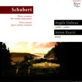 Three Sonatas For Violin And Piano (Trois Sonates Pour Violon Et Piano) by Angèle Dubeau