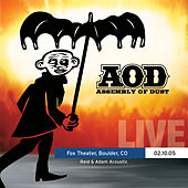 Play & Download Live at the Fox Theater - Boulder, CO 02.10.2005 (Reid Genauer Solo) by Assembly Of Dust | Napster