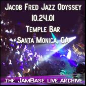 Play & Download 10-24-01 - Temple Bar - Santa Montica, CA by Jacob Fred Jazz Odyssey | Napster
