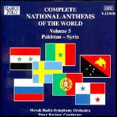 National Anthems, Volume 5 by Various Artists