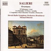 Play & Download Overtures by Antonio Salieri | Napster