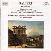 Overtures by Antonio Salieri