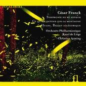 Play & Download Franck: Symphonie en Ré Mineur, Ce qu'on entend sur la montagne & Hulda, Ballet allégorique by Liege Philharmonic Orchestra | Napster