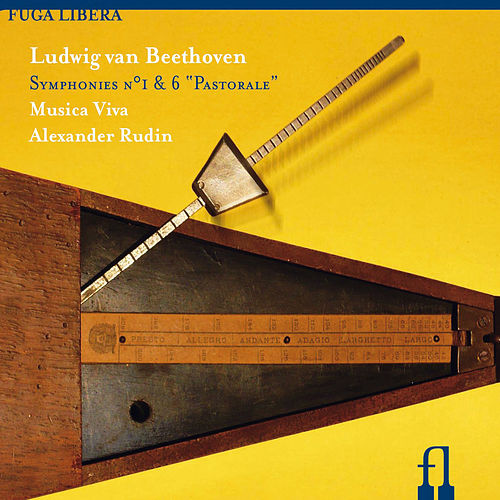 Beethoven: Symphonies Nos. 1 & 6, 'Pastorale' by Moscow Chamber Orchestra