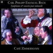 Play & Download C. P. E. Bach: Symphonies & concerto pour violoncelle by Various Artists | Napster