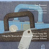 Play & Download Brouwer: Concierto Elegiaco, Danzas Concertantes & Quintet by Denis Sung-ho Janssens | Napster