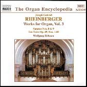 Organ Works Vol. 3 by Joseph Gabriel Rheinberger