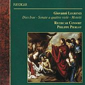 Play & Download Legrenzi: Dies Irae - Sonate a quattro viole - Motetti by Various Artists | Napster