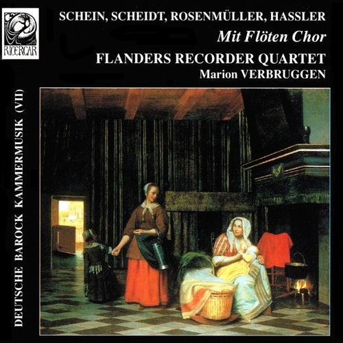 Play & Download Deutsche Barock-Kammermusik VII: Mit Flöten Chor by Marion Verbruggen | Napster