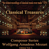Classical Treasures Composer Series: Wolfgang Amadeus Mozart, Vol. 1 by Various Artists