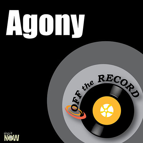 Play & Download Agony - Single by Off the Record | Napster