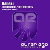 Play & Download Propaganda / Authenticity - Single by Hanski | Napster