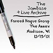 Play & Download 12-13-01 - The Annex - Madison, WI by Fareed Haque Group | Napster