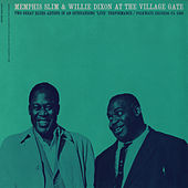 Memphis Slim and Willie Dixon at the Village Gate with Pete Seeger by Pete Seeger