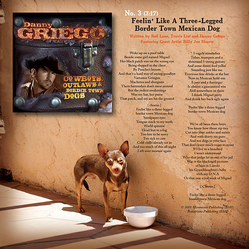 Feelin' Like a Three-Legged Border Town Mexican Dog by Danny Griego