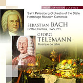 Bach Coffee Cantata, BWV 211; Telemann Musique de table de Various Artists