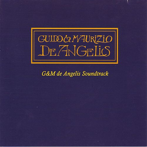 Play & Download G and M de Angelis Soundtrack by Various Artists | Napster