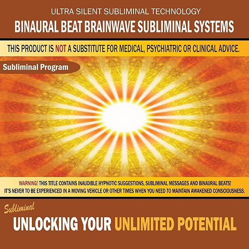 Play & Download Unlocking Your Unlimited Potential by Binaural Beat Brainwave Subliminal Systems | Napster