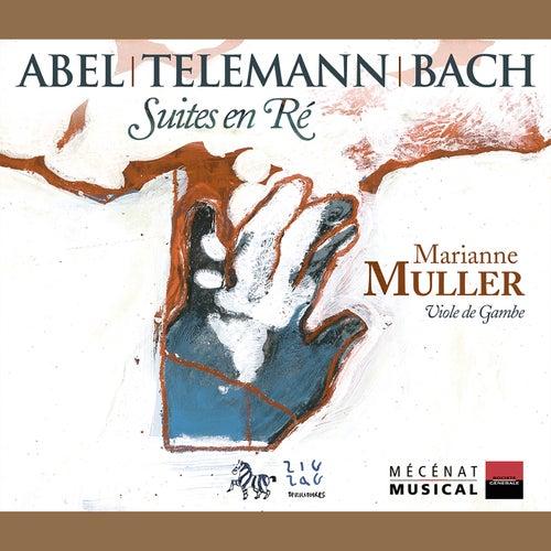 Abel - Telemann - Bach: Suites en Ré by Marianne Muller