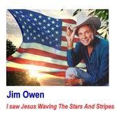 I Saw Jesus Waving the Stars and Stripes by Jim Owen