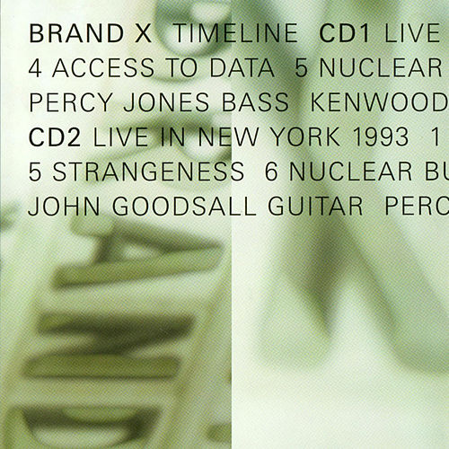 Play & Download Timeline by Brand X | Napster
