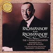 Play & Download Rachmaninoff Plays Rachmaninff:  The 4 Piano Concertos by Sergei Rachmaninov | Napster
