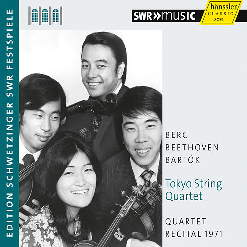 Play & Download Quartet Recital, 1971 by Tokyo String Quartet | Napster