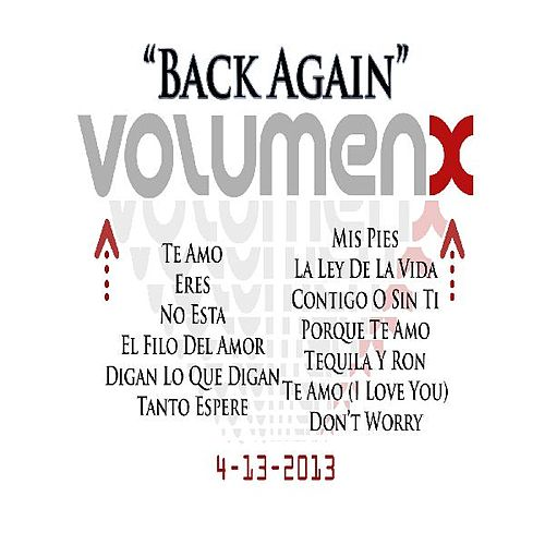 Play & Download 'Back Again' by Volumen X | Napster