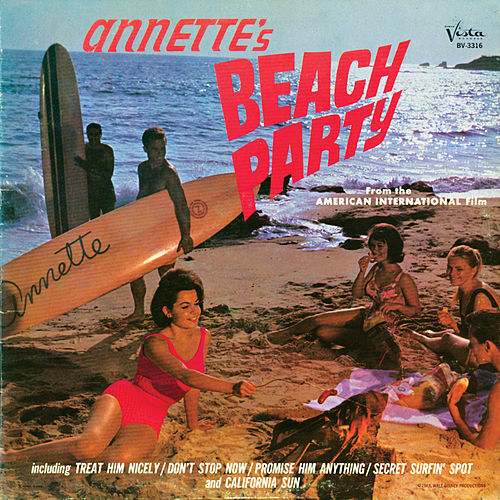 Annette's Beach Party by Annette Funicello