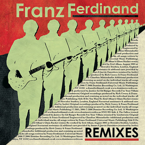 Remixes by Franz Ferdinand