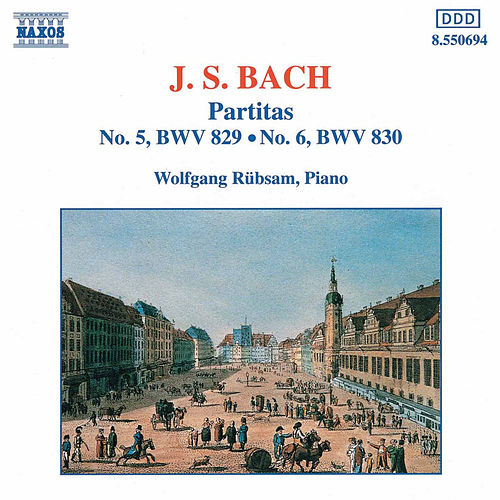 Play & Download Partitas Nos. 5 and 6 by Johann Sebastian Bach | Napster