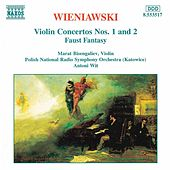 Violin Concertos Nos. 1 and 2 by Henryk Wieniawski
